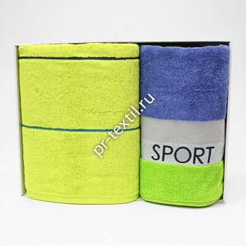 Набор Cleanelly Sport 50*90+70*130 в кор. евро бел.
